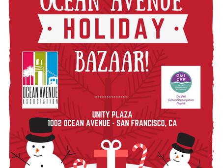 Ocean Avenue Holiday Bazaar!