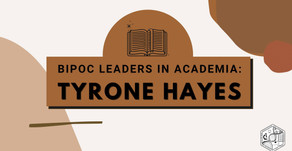 BIPOC Leaders in Academia: Tyrone Hayes