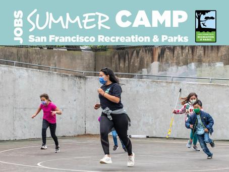 Summer Camp Job Openings