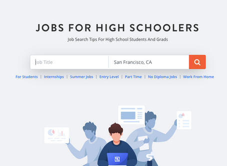 High School Internship Search Engine