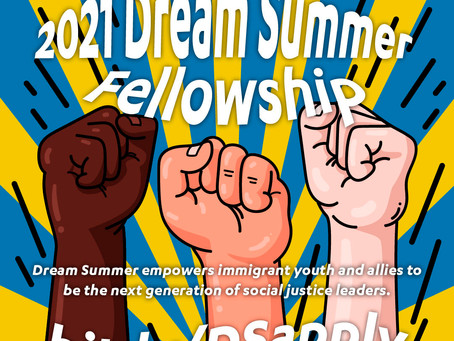 Dream Summer 2021 Fellowship Application