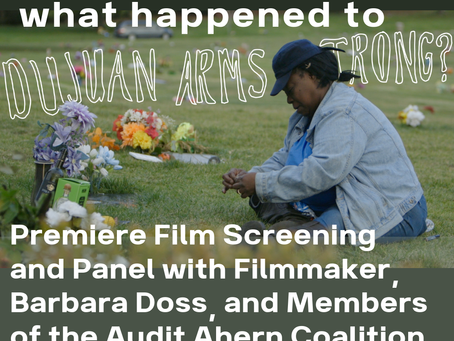 Film Screening: What happened to Dujan Armstrong?