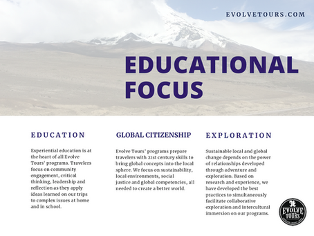 Evolve Tours | Empowering Students Through Travel