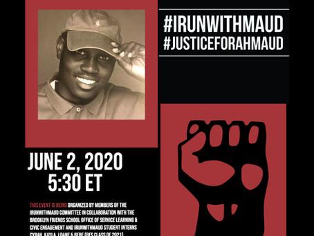 June 2! 2:30 PST   Students Unite! Seeking Justice for Ahmaud Arbery