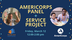 AmeriCorps Panel and Service Project