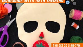 Youth Art Exchange - Halloween Mask Making
