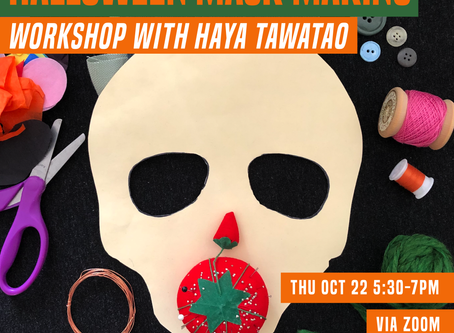 Youth Art Exchange - Halloween Mask Making
