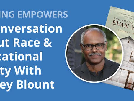 [Reading Partners] Open Conversation and Q&A with Jeffrey Blount
