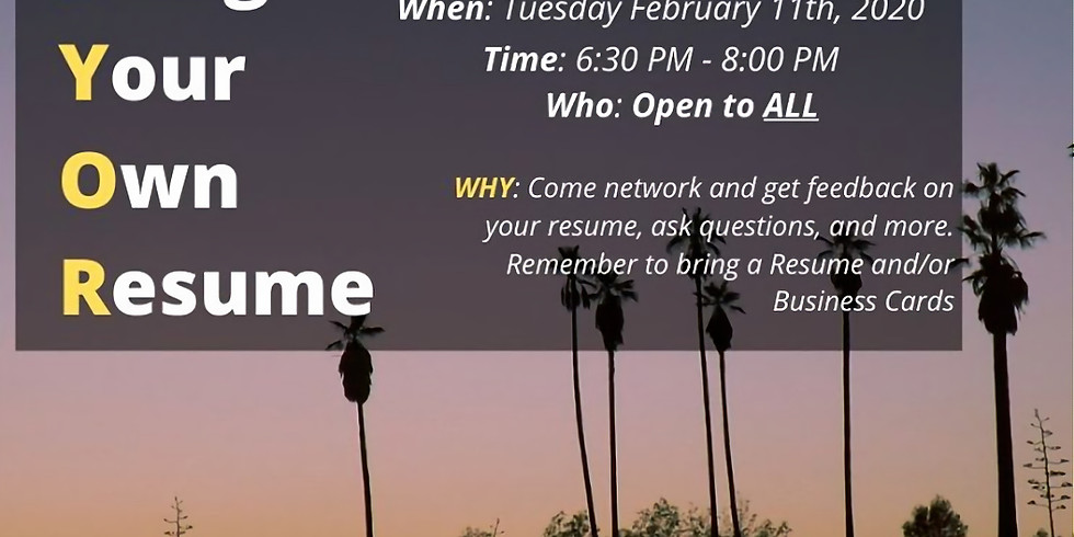 Resume Networking Social hosted by Leading Above Limits