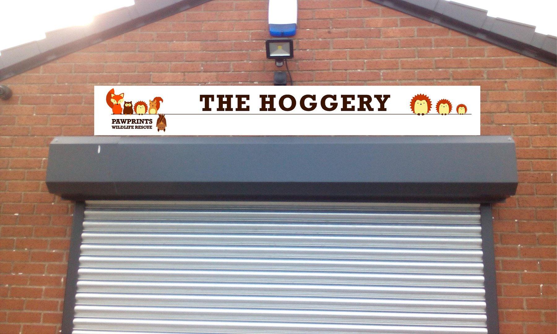 The Hoggery Sign