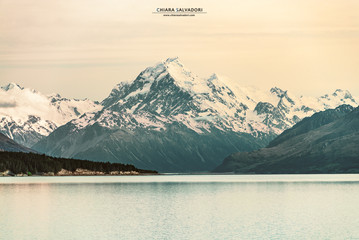 Lake Pukaki and Mount Cook - South Island
