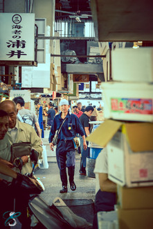 Tsukiji fish market - Japan