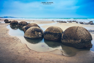 Moeraki Boulders Beach - New Zealand