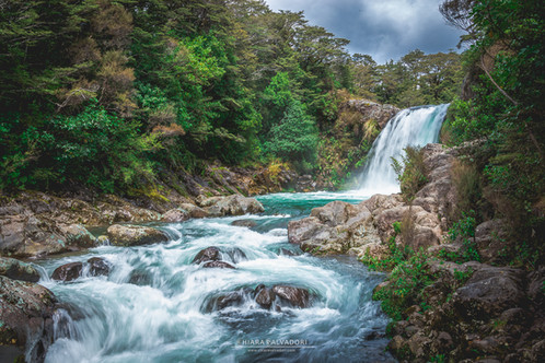 Tawhai Falls (Gollums Pool), New Zealand