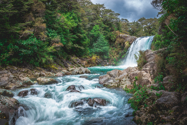 Tawhai Falls (Gollums Pool), New Zealand