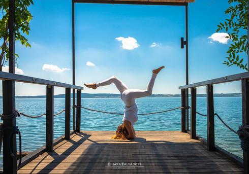 Yoga on Bracciano Lake - Italy