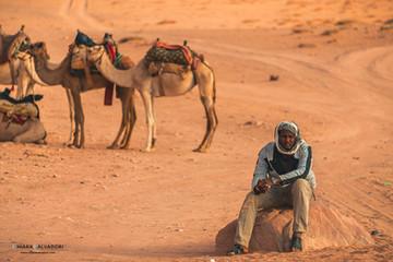 Bedouin in Wadi Rum Desert