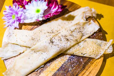 Osteria Rottezzia: Sutrine al pecorino