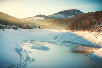 Osiglia Lake Iced - Liguria