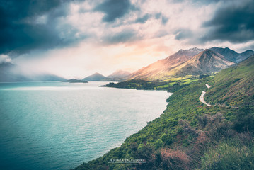 Lake Wakatipu - New Zealand
