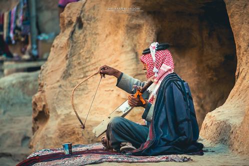 Bedouin in Little Petra