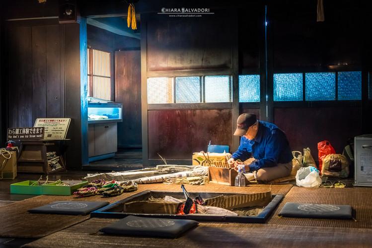 Old Craftman - Hida-no-sato