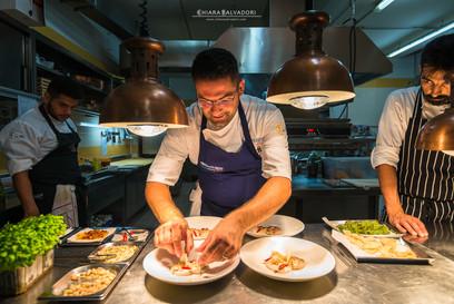 Ristorante Tre Olivi: Chef Matteo Sangiovanni