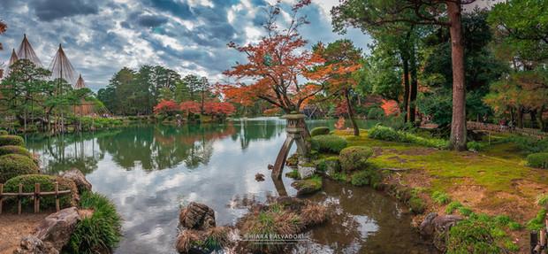 Kenrokuen Garden - Kanazawa