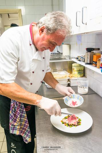 Ristorante Al Cantun Del Lago: chef Luciano Tabozzi