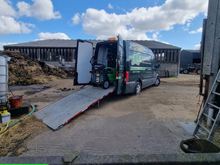 Delivery of a DiBO IBH-S 210/15