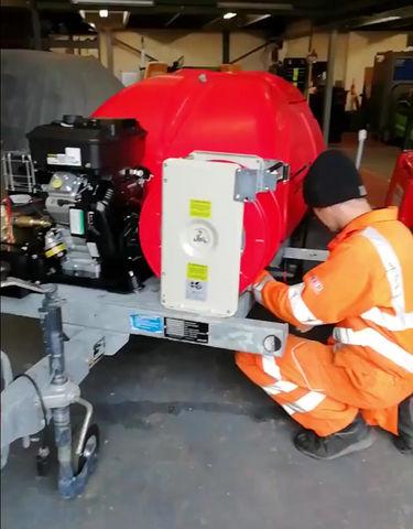 Building our Lanceman 400/15 PBSE