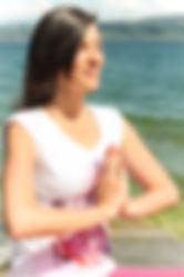Méditation au bord du lac paix intérieure