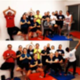 Entrainement club sportif yoga méditation