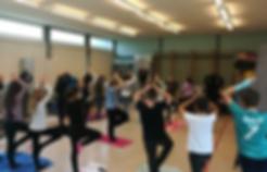 Yoga dans les écoles, classes scolaires