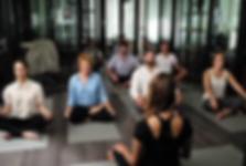 Yoga en entreprise teambuilding