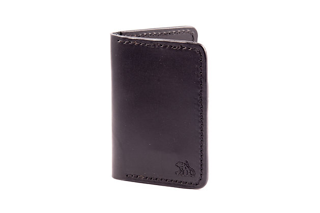 Vertical Wallet - Black
