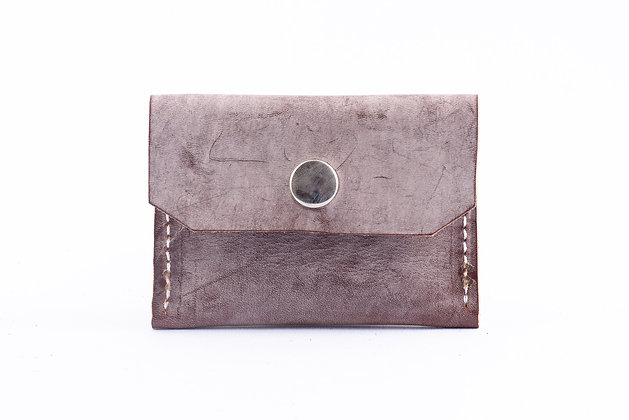 Coin Holder - Ghost Leather