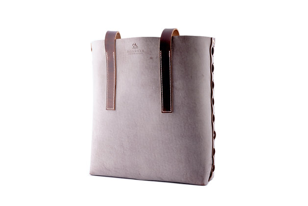 Classic Tote Bag - Ghost Leather