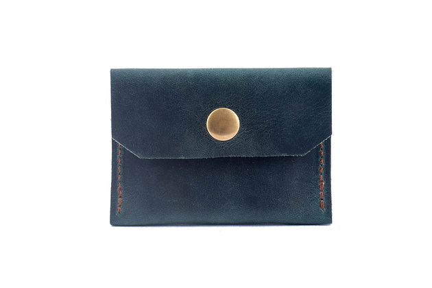 Coin Holder - Green Pull-up