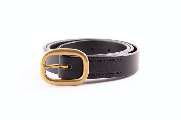 Heritage Belt Slim - Schwarz