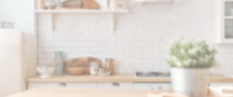 Blurry Image of a kitchen