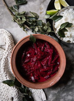 Beetroot curry