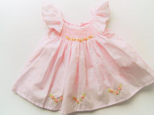 Anika Rose Butterfly Sleeve Infant Dress