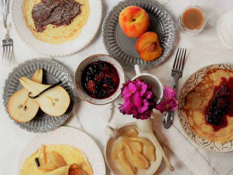 Happy Brunchin'! Crêpes with Sweet Fillings for Memorial Day Weekend