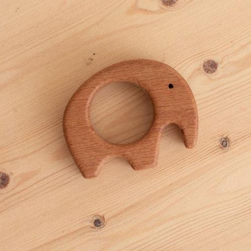 Wooden Teether - Elephant