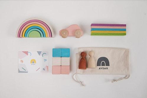 Pastel AVDAR Travel Kit (with car)