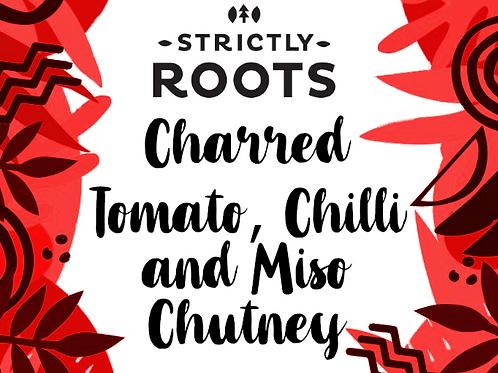Charred Tomato, Miso and Chili Chutney 200g jar