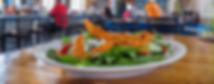 Fresh chicken salad served at The Blind Tiger restaurant