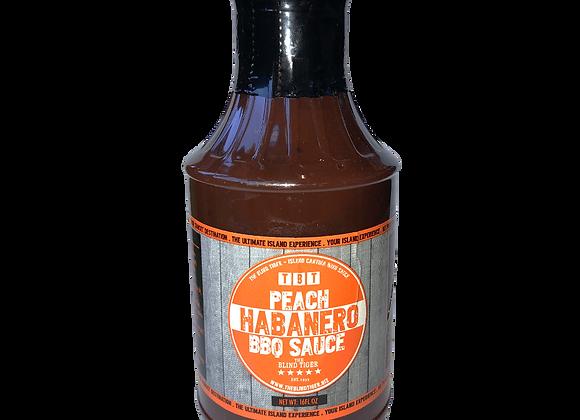 TBT Peach Habanero Sauce
