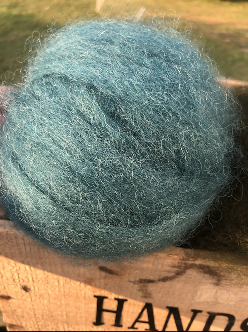 Dyed Border Leicester Wool
